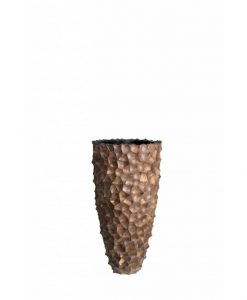 Vase Shell Coconut Brown