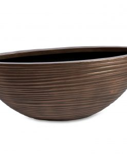Curved Oval Bronze