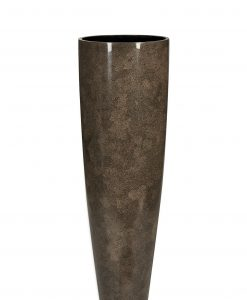 Rango Vase Medium Eggshell Brown